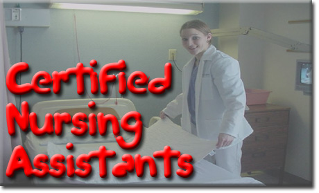 Courses for CNAs, both private duty and those that work in facilities!